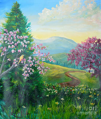 Painting - Nixon's A Glorious Spring Morning by Lee Nixon