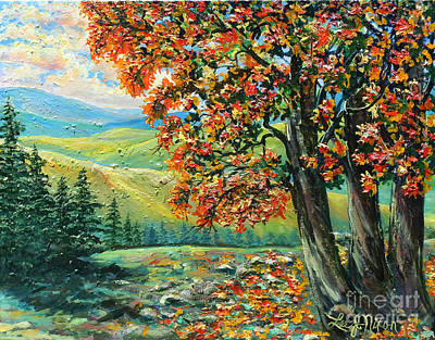 Painting - Nixon's Colorful Sensations Of Autumn by Lee Nixon