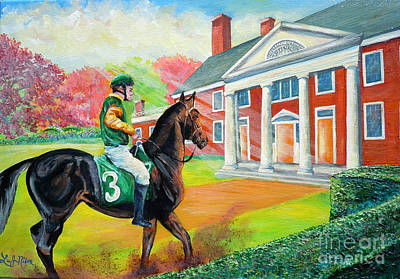 Painting - Nixon's Montpelier - The Reason For The Season by Lee Nixon