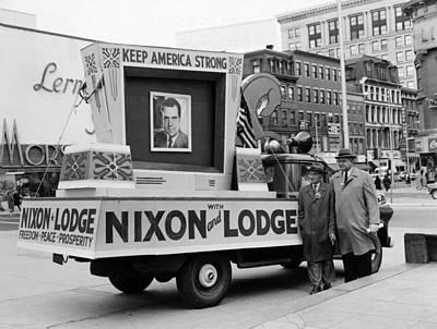 Nixons Presidential Campaign Art Print