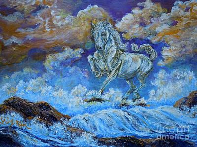 Painting - Nixon's Seahorse by Lee Nixon