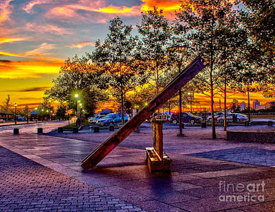 Photograph - Nj 9/11 Memorial - Liberty State Park by Nick Zelinsky