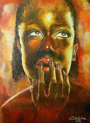 Painting - Nkosazana by G Cuffia