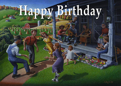 No 23 Happy Birthday Greetings Card Original