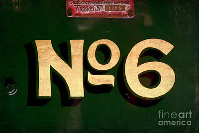 Photograph - No. 6 On Green by Valerie Reeves