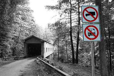 Photograph - No Access by Michelle Joseph-Long