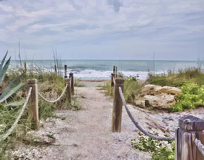 Photograph - No Beach Today by Sandy Poore