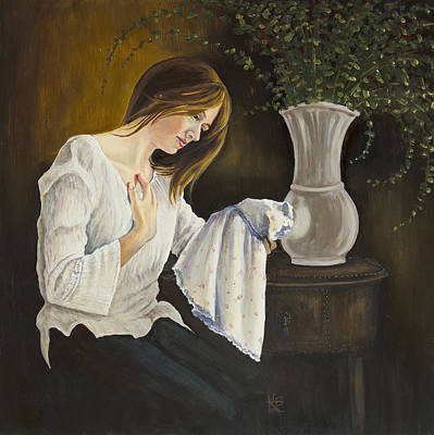Painting - No Daughter by Kirsten Beitler