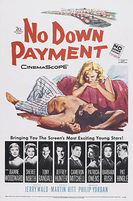 Cameron Mitchell Photograph - No Down Payment, Us Poster Art by Everett