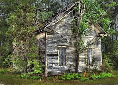 Wooden Ware Photograph - No Earthly Rewards by Laura Ragland