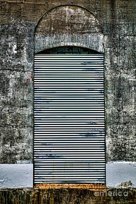 Blight Photograph - No Entry by Olivier Le Queinec