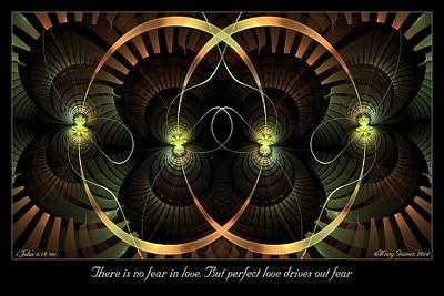 Digital Art - No Fear by Missy Gainer
