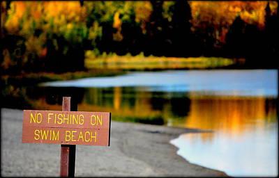 Photograph - No Fishing I by Kathy Sampson