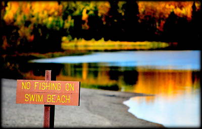 Photograph - No Fishing II by Kathy Sampson