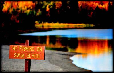 Photograph - No Fishing IIi by Kathy Sampson