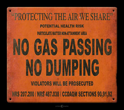 Digital Art - No Gas Passing by Tim Nyberg