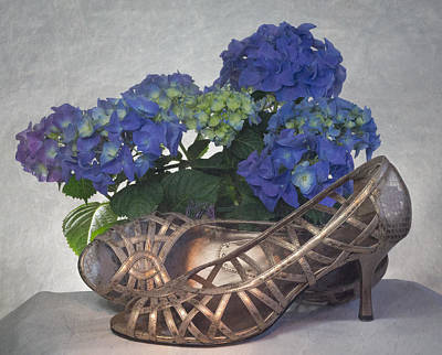 Photograph - Hydrangea High Heels by Patti Deters