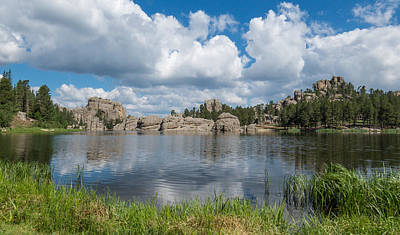Sylvan Lake South Dakota Art Print