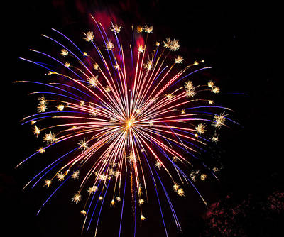 Photograph - Fireworks by Patti Deters