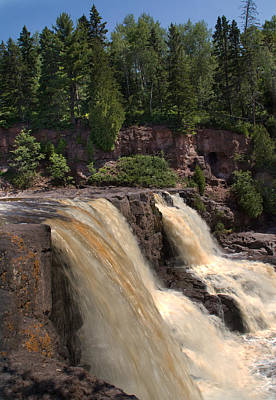 Photograph - Goosberry Lower Falls by Patti Deters