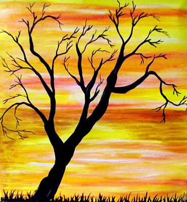 Painting - No Leaves by Sandy Wager