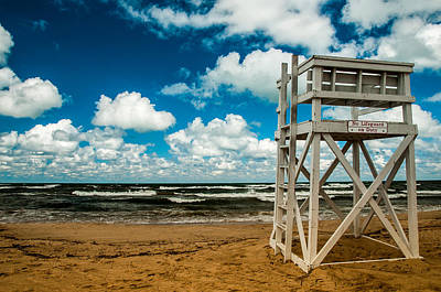 Photograph - No Lifeguard On Duty by Gene Sherrill