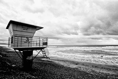 So. Cal Wall Art - Photograph - No Lifeguard On Duty by Tanya Harrison