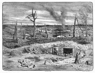 No Man's Land Art Print by Library Of Congress
