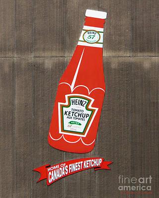 Photograph - No More Ketchup by Barbara McMahon