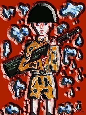 No More War Art Print by Patrick J Murphy