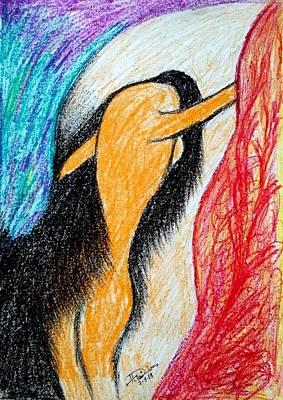 Painting - No Option by Hari Om Prakash