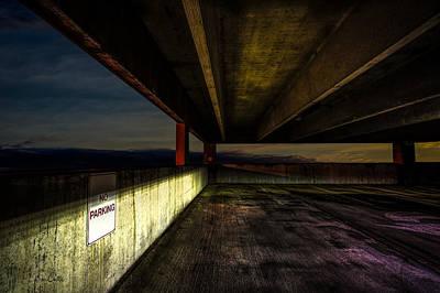 Surreal Photograph - No Parking by Bob Orsillo