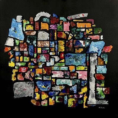 Wall Art - Mixed Media - No Parking by Wendell Fiock