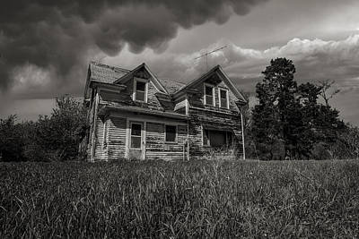 Abandoned Homes Photograph - No Place Like Home by Aaron J Groen