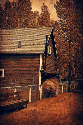 Cabin Window Photograph - No Place Like Home  by Maria Angelica Maira