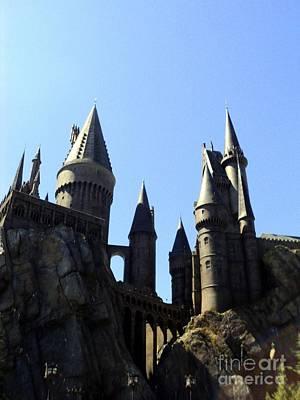 Hogwarts Photograph - No Place Safer Than Hogwarts by Elizabeth Dow