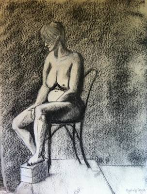Drawing - No Regrets.. by Michelle Deyna-Hayward