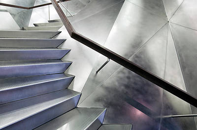 Staircase Photograph - No Right Angle by Linda Wride