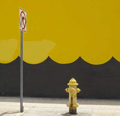 No Right Turn Art Print
