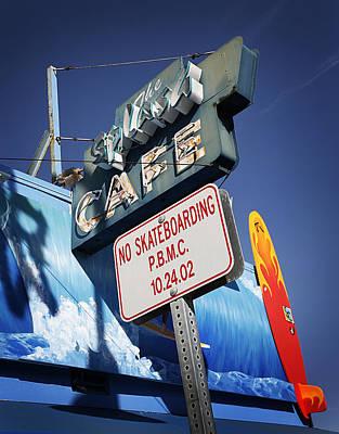 No Skateboarding Original by Jeff Klingler