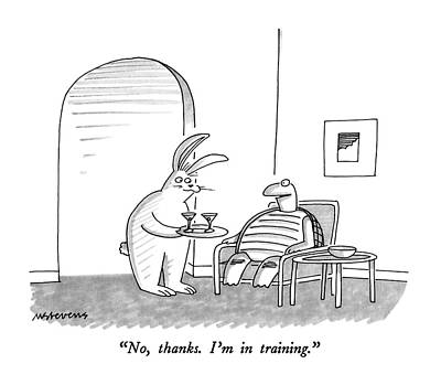 No, Thanks.  I'm In Training Art Print