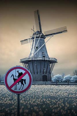 Photograph - No Tilting At Windmills by Randall Nyhof