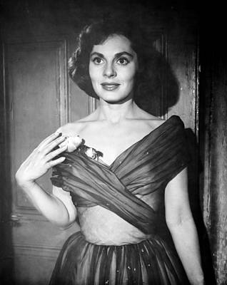 Films By Don Siegel Photograph - No Time For Flowers, Viveca Lindfors by Everett