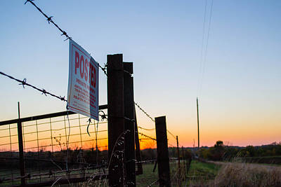 Photograph - No Trespassing  by Nathan Hillis
