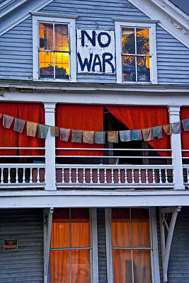 Photograph - No War by Randall Nyhof