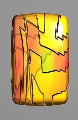 Digital Art - No Web Little Get 28 4 B by Zac AlleyWalker Lowing