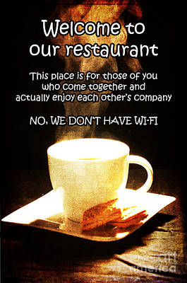 Photograph - No Wi-fi by Randi Grace Nilsberg