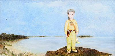 Lone Ranger Painting - No Wind by Rachel Engelking