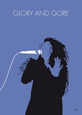 New Artist Digital Art - No028 My Lorde Minimal Music Poster by Chungkong Art