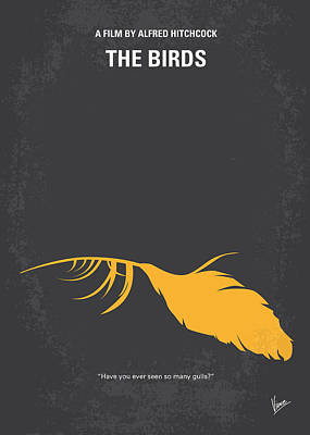 Graphic Design Digital Art - No110 My Birds Movie Poster by Chungkong Art